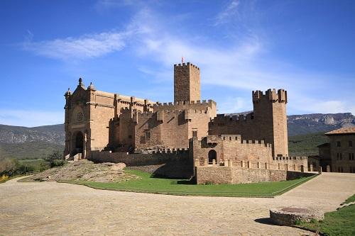 Castillo de Javier ( Foto de Turismo de Navarra )
