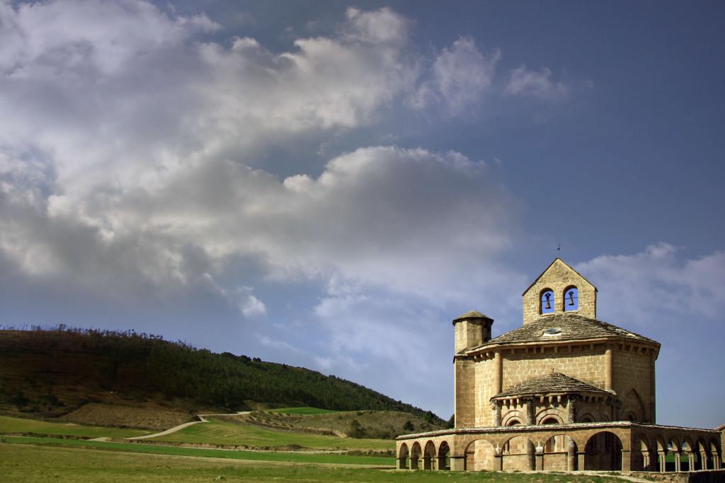 Iglesia de Santa Maria de Eunate (Fotografía cedida por el Archivo de Turismo