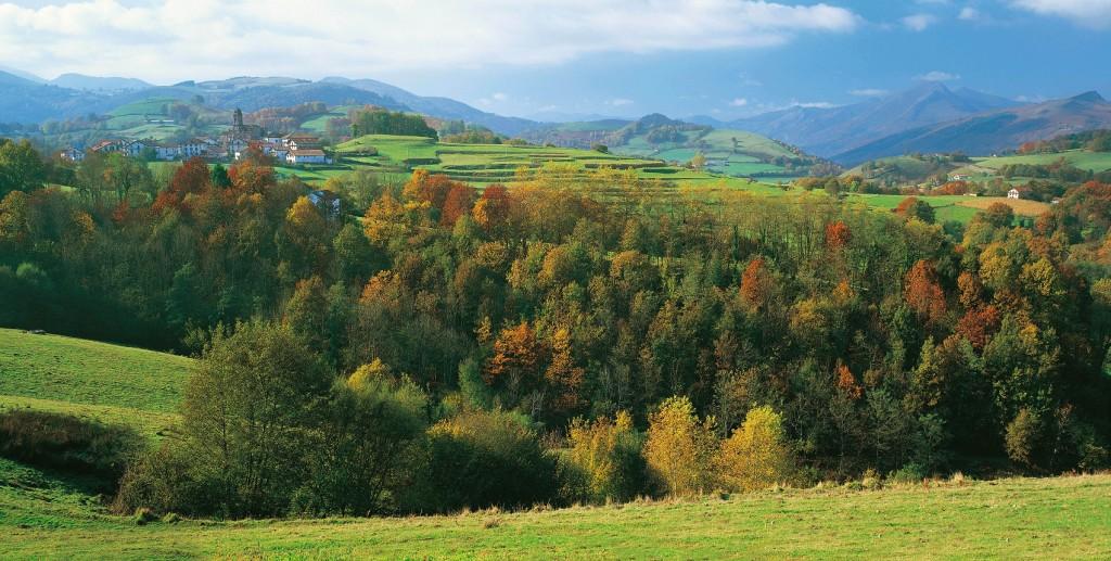 Valle de Baztan, ( Foto de Turismo de Navarra )